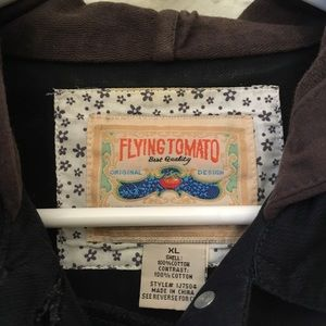 Flying Tomato Jackets & Coats - Flying tomato button up vest hoodie